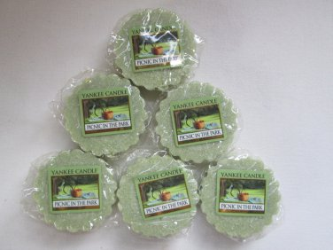 6 Yankee Candle ~ PICNIC IN THE PARK~ Tarts