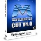 2014 ed Software for Vinyl Sign Plotting Cutters (Basic) VinylMaster Cut Ver 4