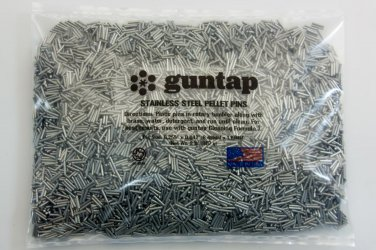 """2 Pounds Stainless Steel Tumbling Media Pins 2lb .047"""" x .255"""" (1.19mm x 6.48mm)"""