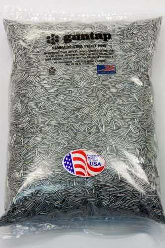 "10 Pounds Stainless Steel Tumbling Media Pins 10lb .047"" x .255"" (1.19mm x 6.48mm)"