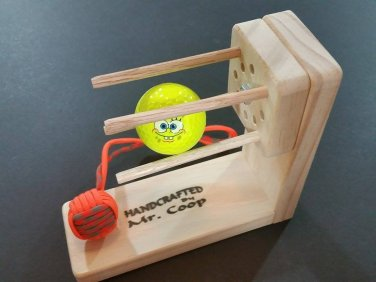 "Multi-Monkey Fist Paracord Jig W/Rotating Head Makes 5/8"" - 2 1/4""MF By Mr. Coop"