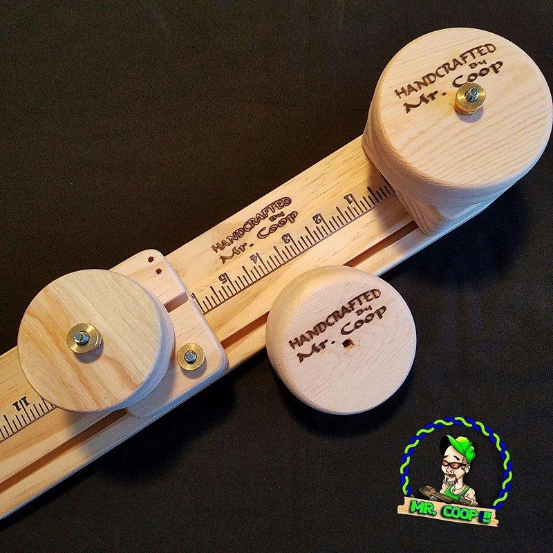 Paracord Yeti Mug Handle Disks