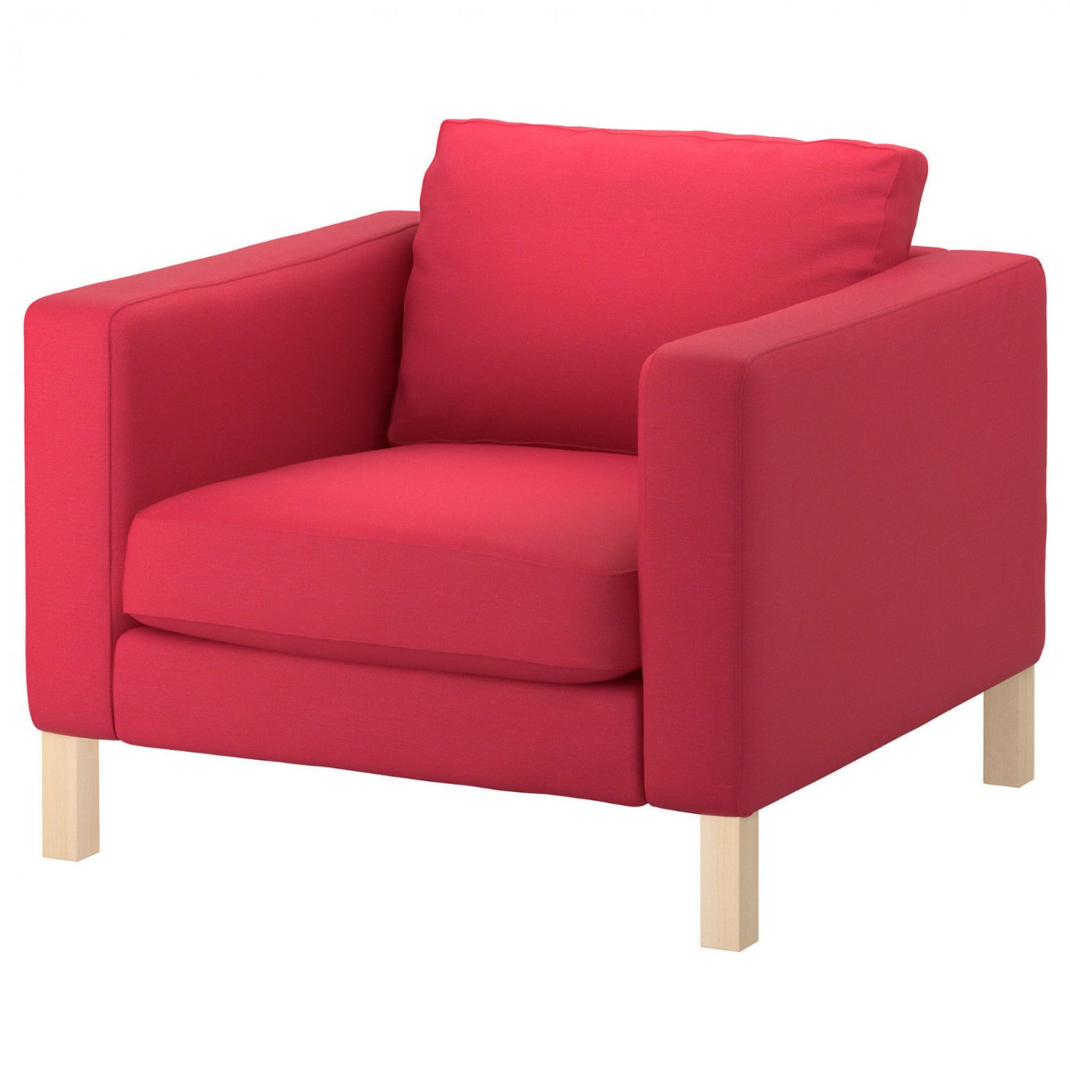 Ikea Karlstad Armchair Cover In Sivik Pink Red 702 031 41