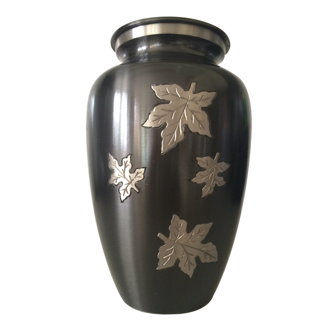 Funeral Cremation Urn with Classic Falling Leaves
