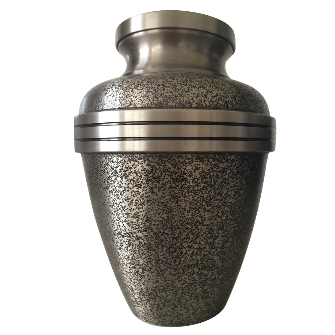 Large Size Twilight Pewter Adult Memorial Urn For Human Ashes