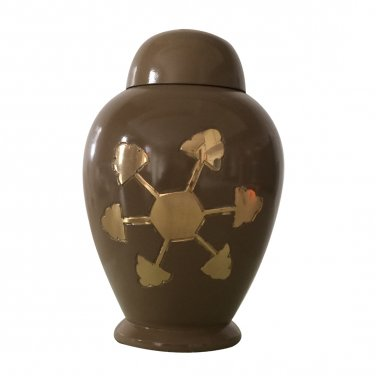 Star Engraved Child Cremation Urn for Ashes
