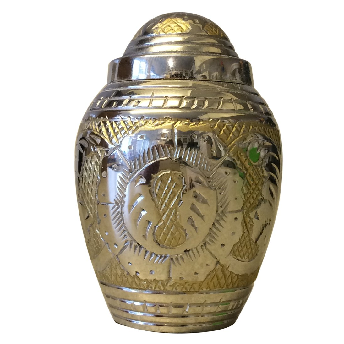 Empire Dome Top Keepsake Urn, Mini Cremation Urns for Ashes