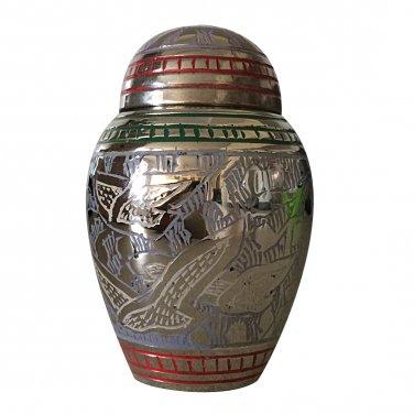 Althorp Purple Mini Keepsake Urn, Mini Cremation Urns for Ashes