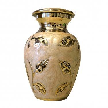 Brampton Champagne Mini Keepsake Urn, Mini Cremation Urns for Ashes