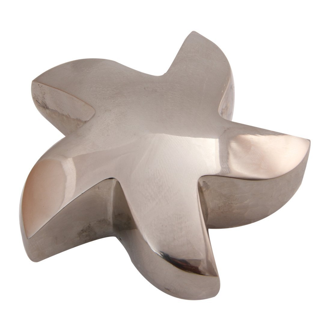 Bright Silver Star Keepsake Funeral Urn for Human Ashes, Unique Star Cremation Urn
