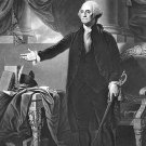 New 5x7 Photo: 1st United States President George Washington