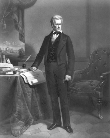 "New 8x10 Photo: 7th United States President Andrew Jackson, ""Old Hickory"""