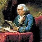New 8x10 Photo: U.S. Founding Father, Statesman and Inventor Benjamin Franklin