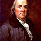 New 8x10 Photo: Portrait of U.S. Founding Father and Statesman Benjamin Franklin