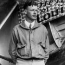 New 5x7 Photo: Charles Lindbergh with his Airplane, The Spirit of St. Louis