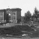 New 5x7 Civil War Photo: Evergreen Gate on Cemetery Hill after Gettysburg Battle
