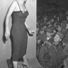 New 5x7 Photo: Marilyn Monroe Performs with USO for Korean War Troops