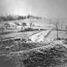 New 5x7 Civil War Photo: Barlow's Knoll after the Battle of Gettysburg, 1863