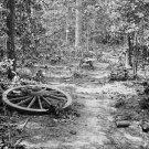 New 5x7 Civil War Photo: Woods where Gen. James McPherson Fell in Atlanta, 1864