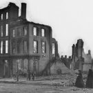 New 5x7 Civil War Photo: Women in Mourning Among the Ruins of Richmond, Virginia