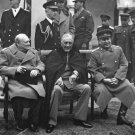 New 5x7 World War II Photo: Conference of the Big Three at Yalta in 1945