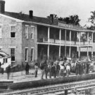 New 5x7 Civil War Photo: Train Station Railroad Depot in Corinth, Mississippi