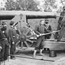 New 5x7 Civil War Photo: Big Gun at Fort Woodbury in Arlington, Virginia