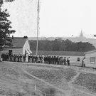 New 5x7 Civil War Photo: Army Band at Harewood Hospital in Washington, 1864