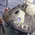 New 5x7 NASA Photo: Odyssey, Apollo 13 Command Module after Splashdown