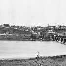 New 5x7 Civil War Photo: River View of Georgetown, 1865
