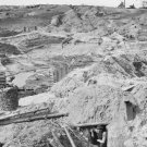 New 5x7 Civil War Photo: Earthworks Fortifications at Gracies Salient