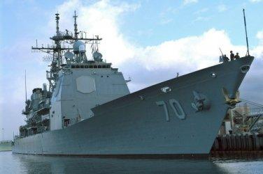 New 5x7 Photo: USS LAKE ERIE (CG-70) Ticonderoga-class Guided Missile Cruiser