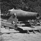 New 5x7 Civil War Photo: 15 Inch Gun and Mounting at Washington, 1864