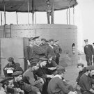New 5x7 Civil War Photo: Sailors Relaxing on Deck of the USS MONITOR