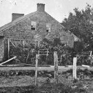 New 5x7 Civil War Photo: CSA General Robert E. Lee's Headquarters at Gettysburg