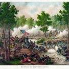 New 13x16 Poster: Battle of Spotsylvania Court House by Kurz and Allison