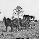 New 5x7 Civil War Photo: Mail Wagon for the Army of the Potomac at Falmouth