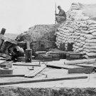 New 5x7 Civil War Photo: Wrecked 32 Pounder Navy Gun in Yorktown
