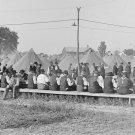 New 5x7 Civil War Photo: Veteran's Mess at 50th Gettysburg Reunion, 1913