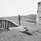 New 5x7 Civil War Photo: Bridge at Strawberry Plains Near Knoxville, Tennesee