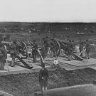 New 5x7 Civil War Photo: Gun Crew of Company H 3rd Massachusetts at Fort Lincoln