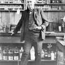 New 5x7 Photo: Inventor Thomas Edison at his Workshop