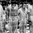 New 5x7 World War II Photo: Japanese POWs at Guam Hear of Japan Surrender