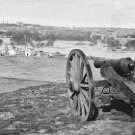 New 5x7 Civil War Photo: View of Richmond Virginia from Belle Isle