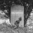New 5x7 Photo: Grave of Abraham Lincoln Conspirator Mary Surratt