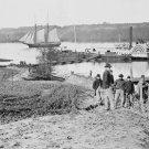 New 5x7 Civil War Photo: Medical Supply Boat on the Appomattox River