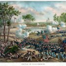 New 13x16 Poster: Battle of Cold Harbor by Kurz and Allison