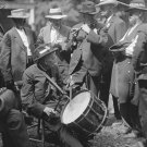New 5x7 Civil War Photo: Veterans Play Music at Gettysburg Reunion of 1913
