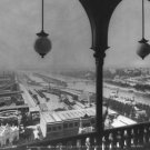New 5x7 Photo: View of Paris from Arched Balcony of Eiffel Tower, 1889