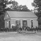New 5x7 Civil War Photo: Massaponax Church, Headquarters of Gen. Ulysses Grant